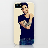 Mr. Levine  iPhone & iPod Case by Pink Berry Pattern