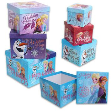 Christmas Disney Frozen 6-Piece Nesting Box Set