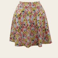 Franchesca Flower Skirt