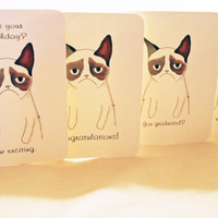 You Pick 2 - Cards from a grumpy cat