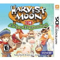 Harvest Moon: A New Beginning - (Nintendo 3DS) - Walmart.com