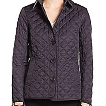 Burberry Brit - Ashurst Diamond-Quilted Jacket - Saks Fifth Avenue Mobile