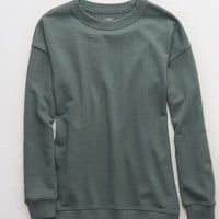 Aerie Downtown Sweatshirt, Palm