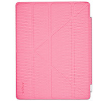 iPad Case Magnetic Flip Cover (Front Only) for Apple iPad 2, 3 & 4 Pink Smarter than the Apple Smart Cover with More Folding Options for Versatility - Clearance