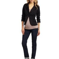 Everly Grey Women's Maternity Clara Long Sleeve Jacket