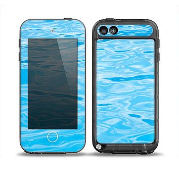 The Crystal Clear Water Skin for the iPod Touch 5th Generation frē LifeProof Case