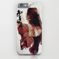 Strings iPhone & iPod Case by Galen Valle