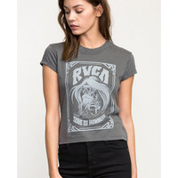 Trail To Nowhere Fitted T-Shirt | RVCA