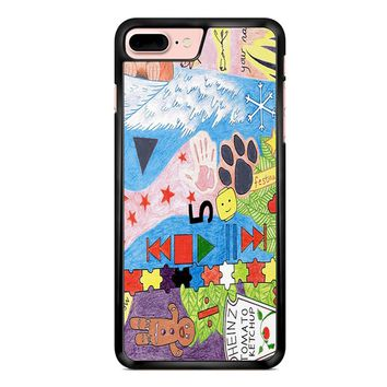 Ed Sheeran Tattoos Drawing iPhone 7 Plus Case
