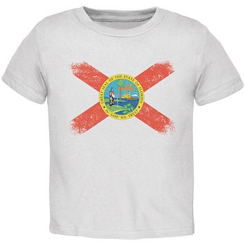 Born and Raised Florida State Flag Toddler T Shirt