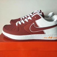 """Nike Air Force 1"" Unisex Sport Casual Multicolor Low Help Shoes Sneakers Couple Plate Shoes"