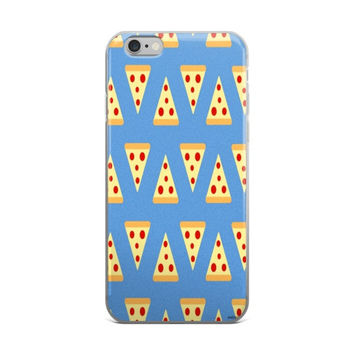 Pizza Emoji Collage iPhone 4 4s 5 5s 5C 6 6s 6 Plus 6s Plus 7 & 7 Plus Case