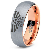 Legend of Zelda Ring  Mens Fanatic Geek Sci Fi Science Fiction Boys Girls Womens Legend of Zelda Ring