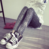 Silver Bright Leggings
