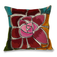 Cayman Flower Pillow
