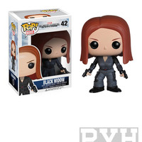 Funko Pop! Marvel: Captain America 2 Movie - Black Widow - Vinyl Figure - VAULTED (RETIRED)
