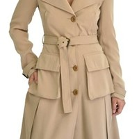 Alice and Olivia Boston Belted Trench Coat