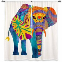 https://www.dianochedesigns.com/shop/shop-by-product/window-curtains/children/curtain-pom-graphic-design-whimsical-elephant-i.html