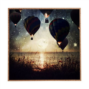 Belle13 Lighting The Night Framed Wall Art
