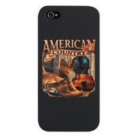 iPhone 5 Case Black American Country Boots And Fiddle Violin Cowboy:Amazon:Everything Else