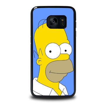 HOMER SIMPSONS Samsung Galaxy S7 Edge Case Cover