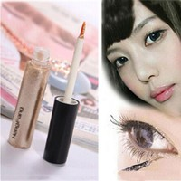 Colorful Eye Shadow Sticker 8 Colors Liquid Eyeshadow & Eyeliner Pen Shimmer Glitter Shining Cosmetics Makeup Trendy