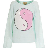 WILDFOX  Ying Yang Mall Fountain Knit sweater with symbol - What's new