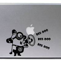 Despicable Me Decal / Minion Decal / Macbook Decal / Laptop Sticker / Laptop Decal / Minion Sticker / Despicable Me / Minion