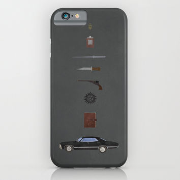 Supernatural iPhone & iPod Case by Justin Cybulski