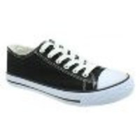 Inspired By Converse Back To School Sneakers - Black