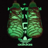 Adidas Consortium EQT x Bait Fashion Luminous Sneakers Sport Shoes