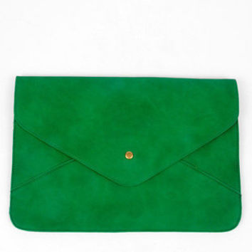 Dear Anne Envelope Bag in Green :: tobi