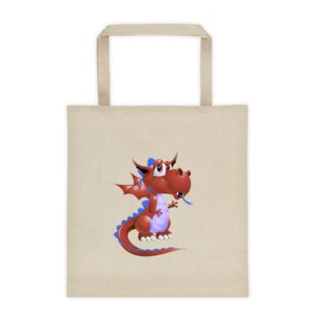 Draco Blood Red Tote bag