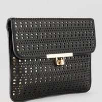 Swansea Perforated Clutch