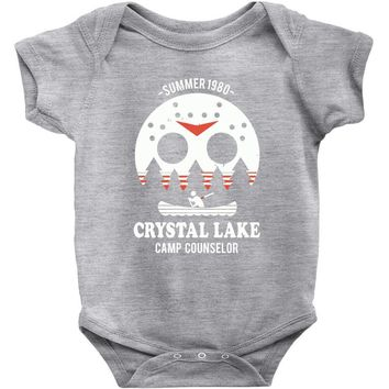 crystal lake camp counselor Baby Bodysuit
