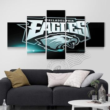Philadelphia Eagles Posters Canvas Oil Painting Wall Art Modern Prints Home Decoration Pictures For Living Room Unframed BR0089