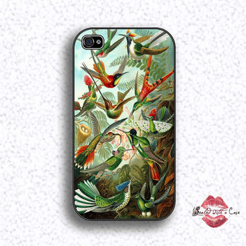 Birds by artist Ernst Haeckel  - iPhone 4 Case, iPhone 4s Case and iPhone 5 case