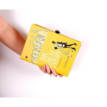 Great Gatsby Book Clutch