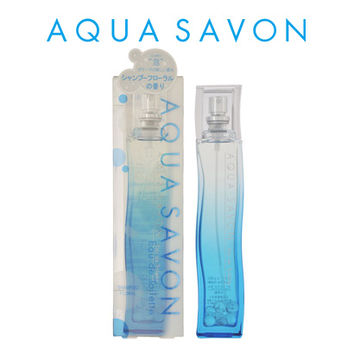 Fragrance EDT 80mL men's Lady's of the AQUA SAVON aqua soap shampoo floral
