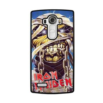 iron maiden lg g4 case cover  number 1