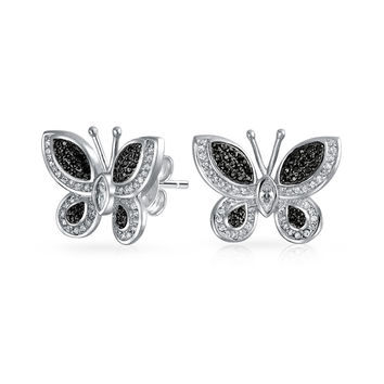 Bling Jewelry Fly With Me Studs