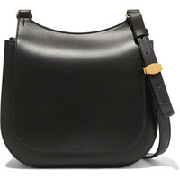 The Row - Hunting Bag 9 leather shoulder bag