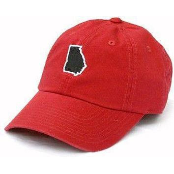 GA Athens Gameday Hat in Red by State Traditions