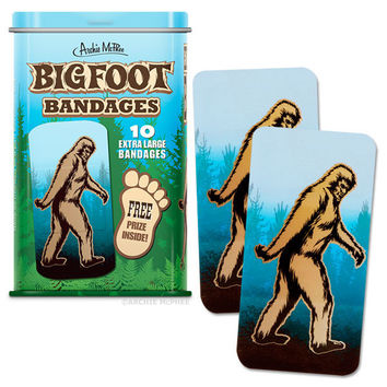 BigFoot Makes It Better Adhesive Band-Aids