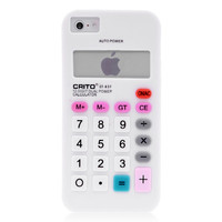Calculator Silicone Case For iPhone 5 & 5S