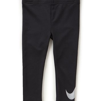 Nike Little Girls 2T-6X Dri-FIT Sport Essentials Iridescent Leggings | Dillards