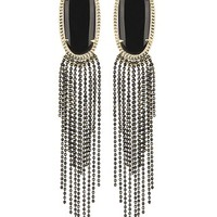 Amy Statement Earrings in Black - Kendra Scott Jewelry