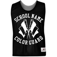 Color Guard Jersey: Custom Unisex Badger Sport Lacrosse Reversible Pinnie - Customized Girl