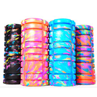 1 PCS Newest 33cm Colorful EVA Pilates Foam Roller For Yoga Balance Training Yoga Block Good For Muscle Relaxing Back Exercice