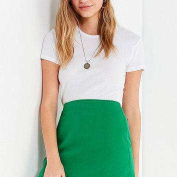 UO Structured Pelmet Mini Skirt | Urban Outfitters